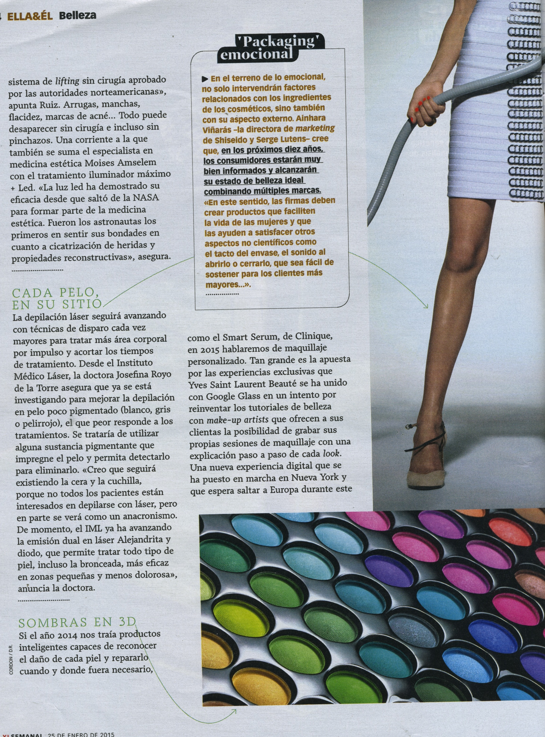 Revista XLSEMANAL: luz led
