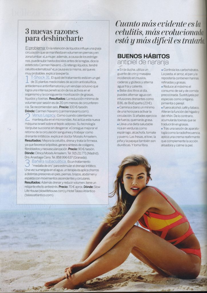 Revista Woman: Venus Legacy
