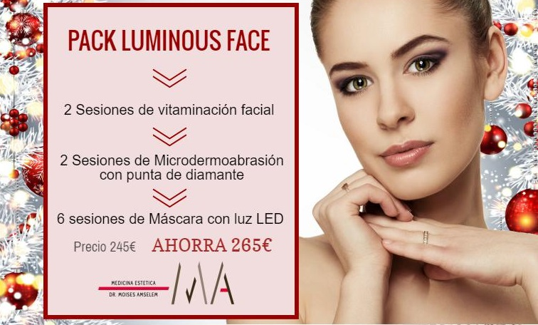 pack luminous face