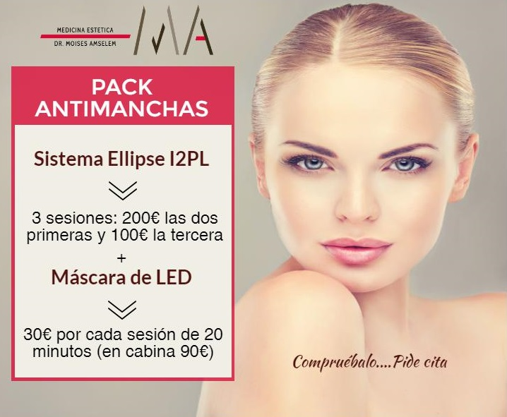 pack antimanchas faciales